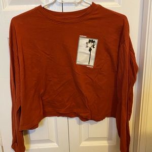 Hollister Loose Fit Long Sleeve Shirt